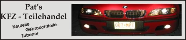 Pat´s BMW-Teile Markt